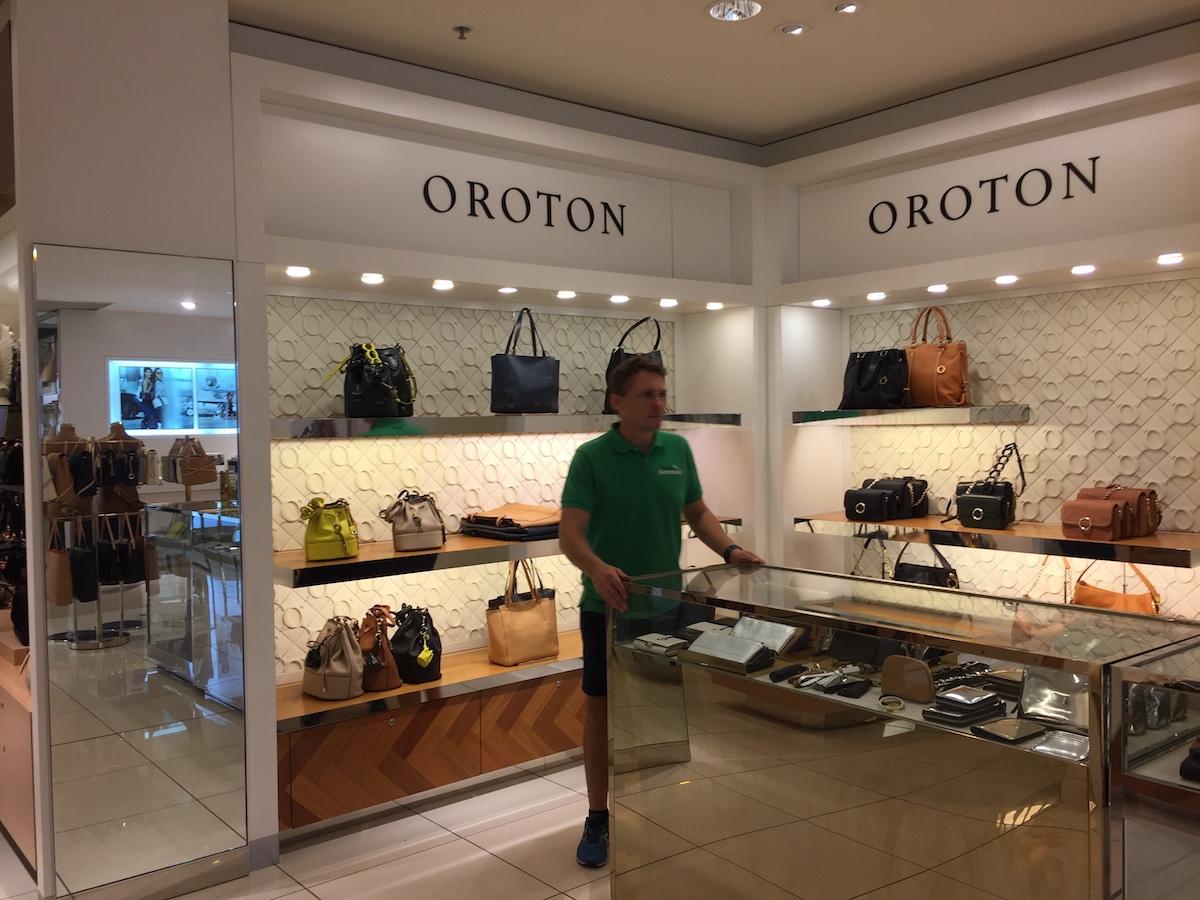 Corporate removals for oroton at bondi junction dj 39 s store - David jones head office australia ...